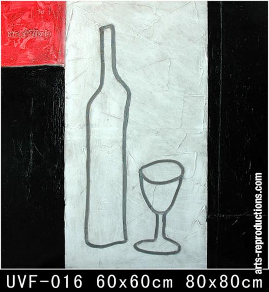 Tableau contemporain pas cher uvf 016 tableau tableaux d co cuisine arts repr - Tableaux contemporains pas cher ...