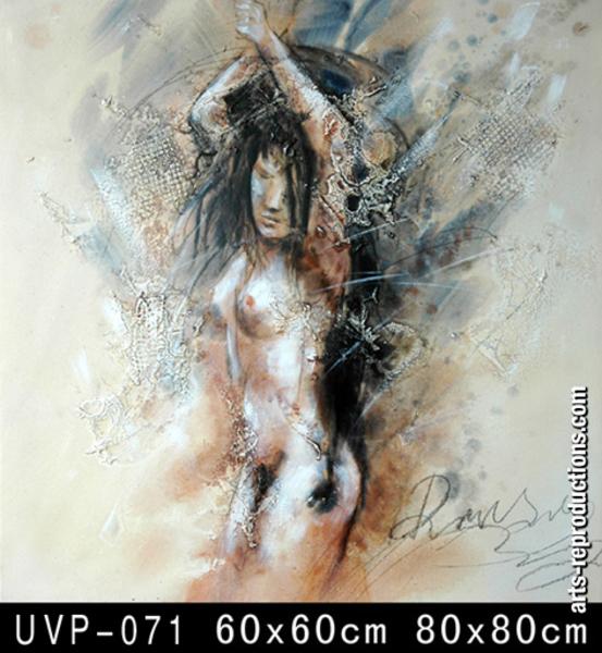 Tableaux nus exotiques abstraits
