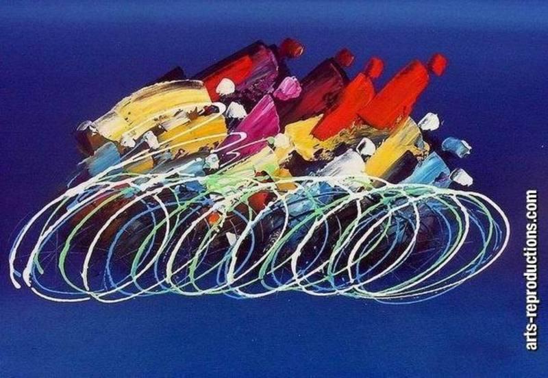 Tableau contemporain design yvab1439 tableau tableaux sport arts reproduction - Tableaux originaux design ...