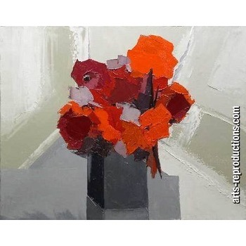 Vente tableaux deco yvnewab030 tableau tableaux fleurs - Vente tableaux peinture a l huile ...