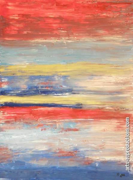 pin tableau peinture mer - photo #21