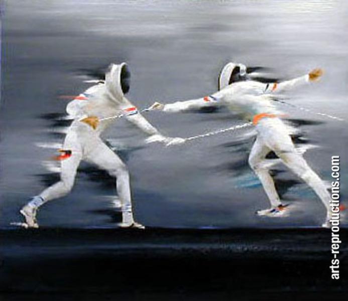 Peinture art moderne divsport64 tableau tableaux sport for Art moderne peinture
