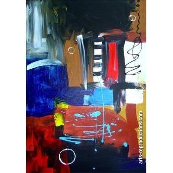 tableau contemporain pas cher jomeg193 tableau tableaux abstraits arts reproductions peinture. Black Bedroom Furniture Sets. Home Design Ideas