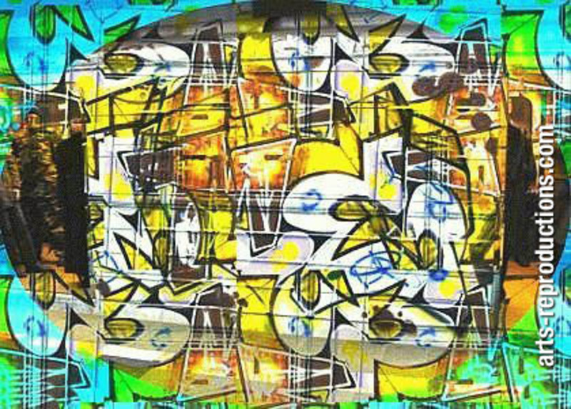 Reproduction graffiti DIVgraffiti40