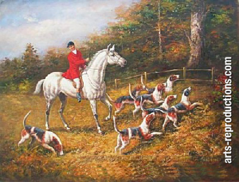 Vente tableau pas cher jogdr005b tableau tableaux chasse arts reproductions - Vente tableau pas cher ...