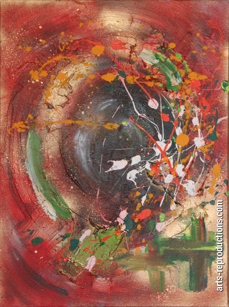 Préférence Tableau peinture a huile Miroir de l'âme tableau Oeuvres d'art  EC12