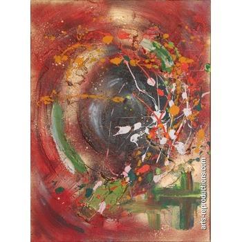 Tableau peinture a huile miroir de l 39 me tableau oeuvres d for Miroir de l ame