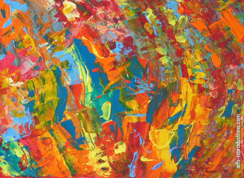 Tableau peinture l huile contemplation 6 tableau oeuvres d 39 art original - Tableaux de peinture a l huile ...