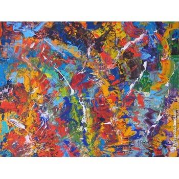toile en peinture explosion tableau oeuvres d 39 art arts reproductions peinture l huile sur. Black Bedroom Furniture Sets. Home Design Ideas