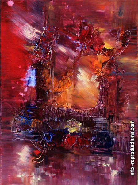 Préférence Tableau peinture Le disquaire de la rue neuve tableau Oeuvres d  EC12