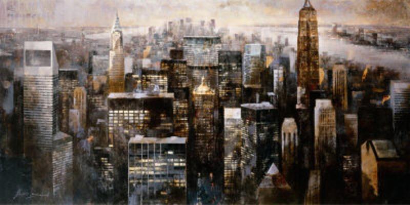 Vente tableau huile New york 28 tableau Tableaux Paysages Villes ...