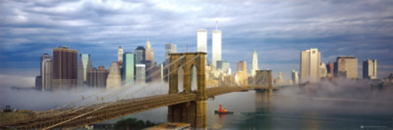 Reproduction oeuvre New york 27 tableau Tableaux Paysages Villes ...