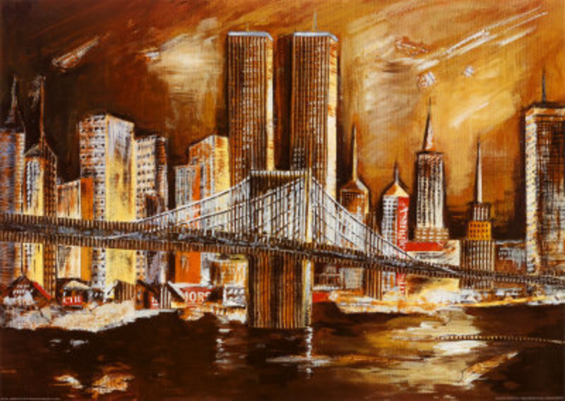 Vente tableau de peinture New york 38 tableau Tableaux Paysages ...