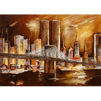 Vente tableau de peinture new york 38 tableau tableaux paysages villes arts r - Tableau new york castorama ...