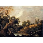Reproduction tableau toile Constable013