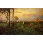 Vente tableau reproductions Inness010