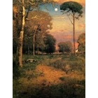 Reproduction sur toile Inness008
