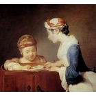 Tableau reproductions Chardin036