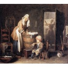 Reproduction tableau art Chardin014