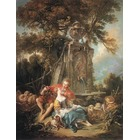 Reproduction tableau de peintre Fragonard030
