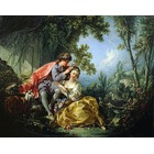 Reproduction toile de maitre Boucher027
