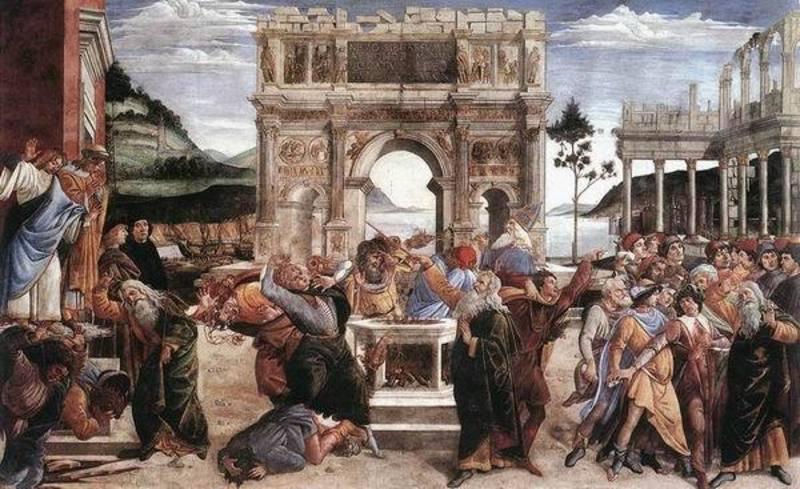 reproduction tableaux  renaissance vente peinture sur toile botticelli