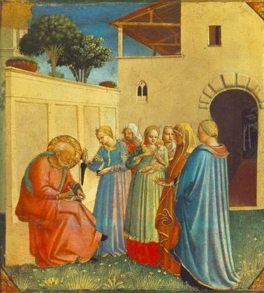 Tableau de peintre raphael027 tableau renaissance raphael - Tableau de maitre reproduction ...