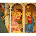 Tableau peinture a huile Angelico001
