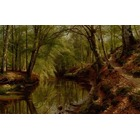 Copie peinture de maitre Monsted033
