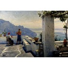 Copie tableau de peintre Monsted031