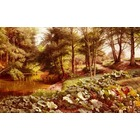 Copie tableaux de peintre Monsted029