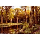 Reproduction tableau de peintre Monsted020