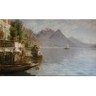 Reproduction toile de peintre Monsted018