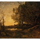 Reproduction toile Corot012