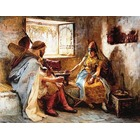 Reproduction peintre Bridgman031