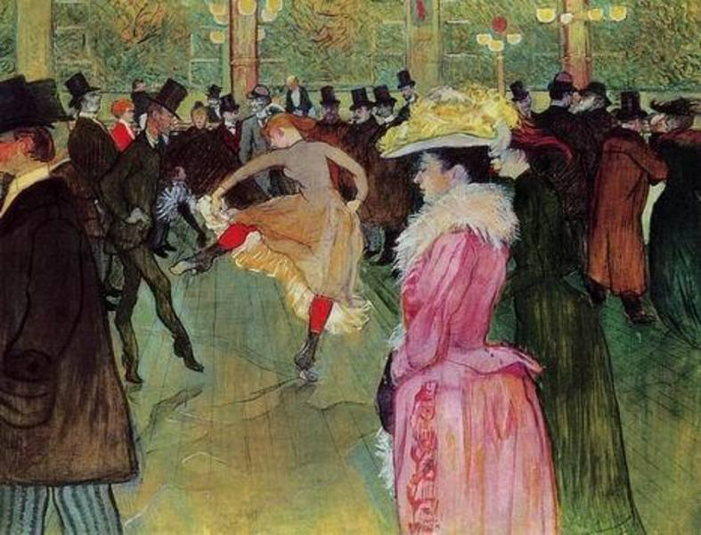 Reproduction tableau Lautrec009