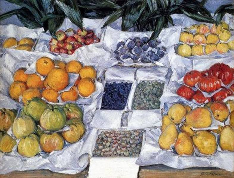 Tableau toile Gustave Caillebotte 016