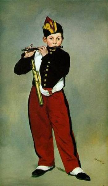 Reproduction oeuvre Manet017