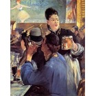 Reproduction tableau toile Manet005