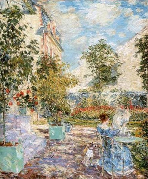 Vente copies tableaux hassam173
