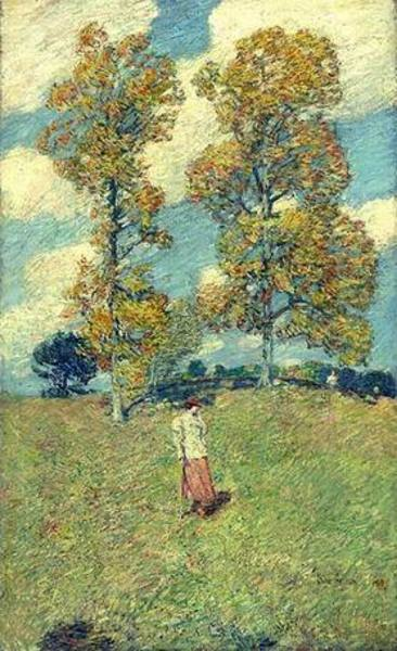 Reproduction tableau art hassam167