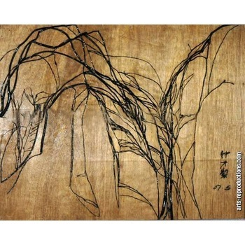 tableau moderne contemporain citree roots fecit tableau. Black Bedroom Furniture Sets. Home Design Ideas