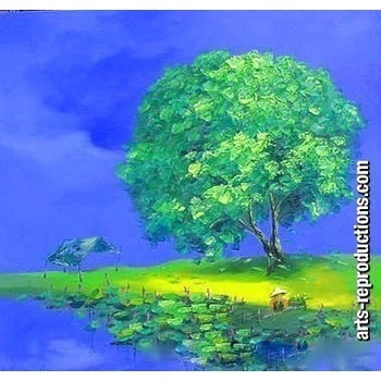 Tableau contemporain pas cher civpaint151 tableau tableaux paysages arts repr - Tableaux contemporains pas cher ...