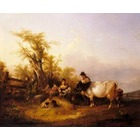 Reproduction toile de peintre Shayer021