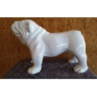 Statue animal en résine BULLDOG BOULEDOGUE USA PM DEBOUT MONOCHROME