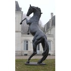 Sculpture d'art Statue en Bronze Cheval 3,60 m