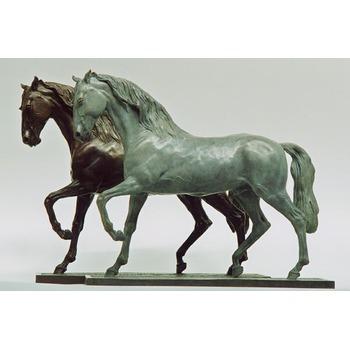 CHEVAUX Sculpture Personnage Cheval Sculpture Cheval statue buste statue chevaux buste